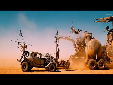 Mad Max: Fury Road (2015) -Chase moves on (2/10) [4K]