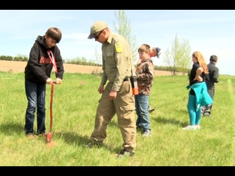 Golden Apple: Clearbrook-Gonvick Students Plant Trees For Minnesota's Arbor Month
