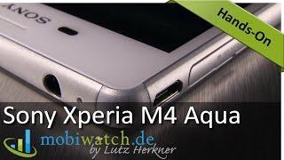 Warum man das Sony Xperia M4 Aqua nicht kaufen sollte – deutsch