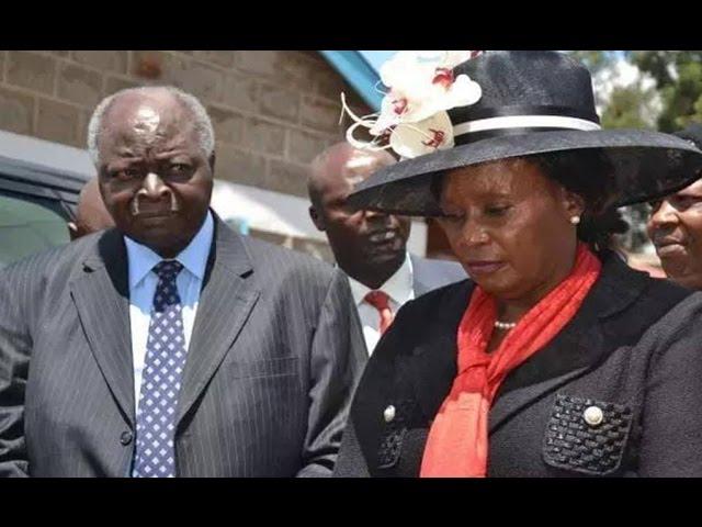 Finally, Mwai Kibaki Reclaims His Second Wife at Gachagua's Funeral