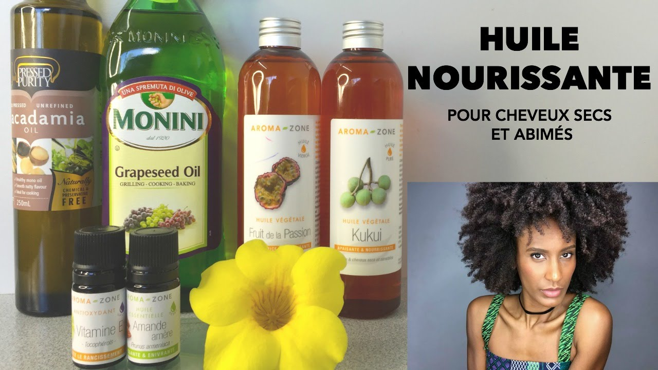 diy huile nourrissante pour cheveux afro cr pus naturels youtube. Black Bedroom Furniture Sets. Home Design Ideas