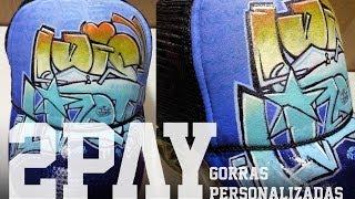 Gorra con Graffiti (Pintado a Mano) | 2PAY