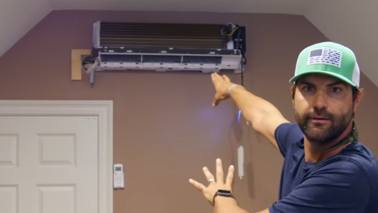 how to repair a ductless mini split air conditioner 13 steps with pictures  [ 1280 x 720 Pixel ]