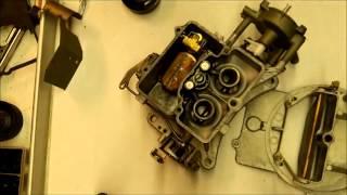 motorcraft 2100 carburetor rebuild top choke part 4