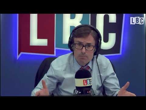 Eddie Mair montage of Robert Peston on LBC Radio