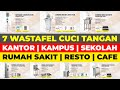 Wastafel Cuci Tangan | Standing Wastafel | Wastafel Stainless Portable |...