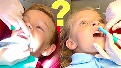WHO HAS A CAVITY? Kids visit the Dentist!