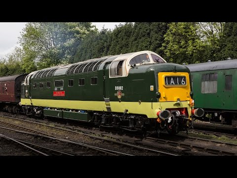 Severn Valley Railway Diesel Festival, 20th May 2016