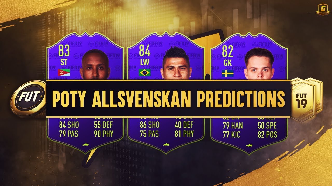 Fifa 19 Poty Allsvenskan Sbc Predictions Poty Paulinho Poty Goitom Poty Linner Youtube