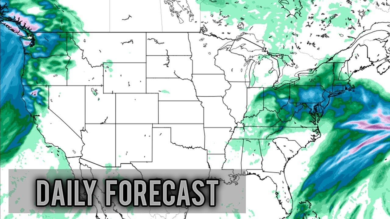 Daily United States Weather Forecast - Sunday December 16th