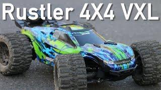 Upgraded Traxxas Rustler 4X4 VXL RC Truck - AMain Employee Car