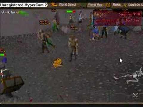 Dopedaddy: Runescape Bounty Hunter #2