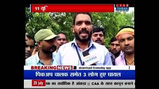 Lucknow : एंबुलेंस कर्मचारियों हड़ताल जारी