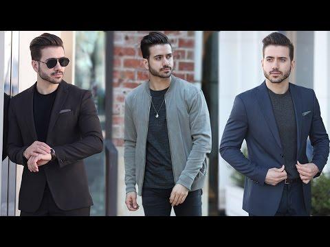 MEN'S OUTFIT INSPIRATION 2017   Men's Fashion Lookbook 2017   ALEX COSTA