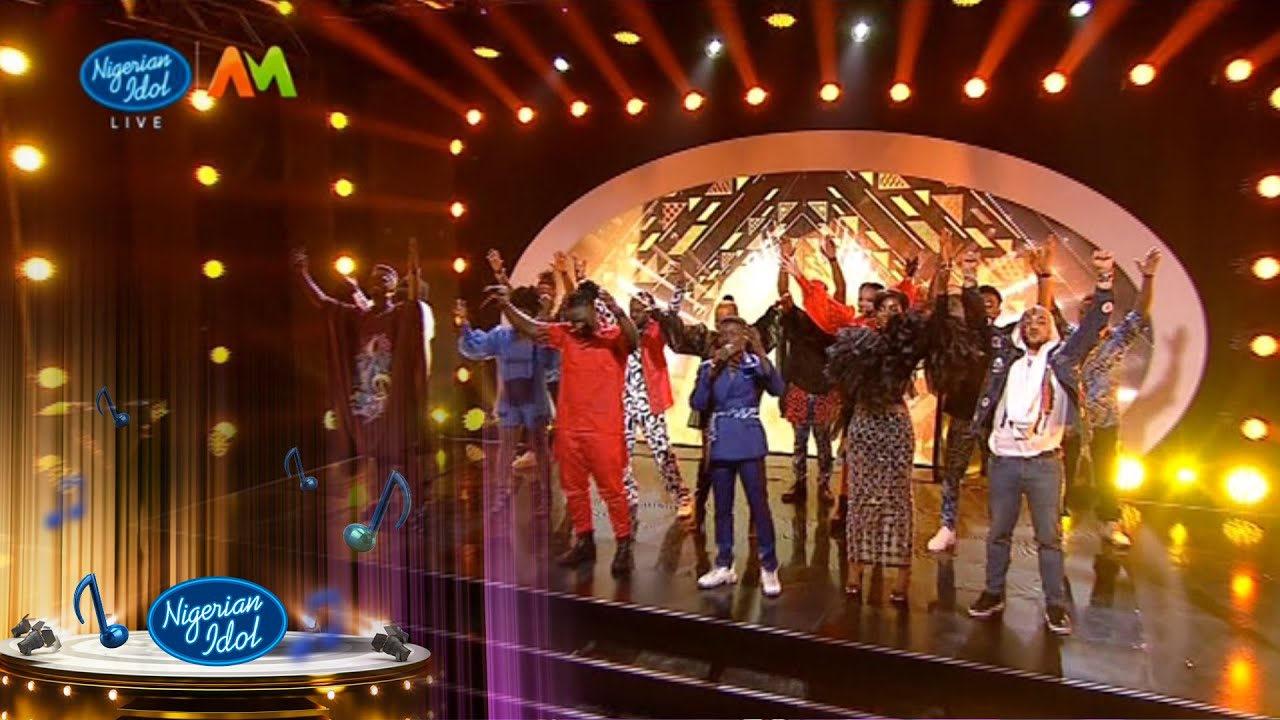 Finale: Group Performance – 'Jerusalema' – Nigerian Idol | Africa Magic | S6 |E16