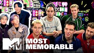 Most Memorable Boy Band Moments ft. BTS, 1D & *NSYNC   MTV
