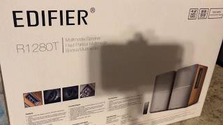Edifier R1280T Studio Monitor Speakers Unboxing, Review & Demo