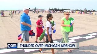 The annual Thunder Over Michigan Air Show returns to metro Detroit this weekend