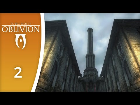 The Imperial City Is A Busy Place - Let's Play Oblivion (with Graphics Mods) #2