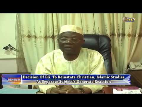 Religious Leaders In Benin Hails Federal Govt's Decision To Separate CRS/IRS In Basic Education
