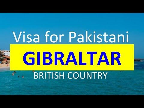 Gibraltar Visa for Pakistani l Contact us