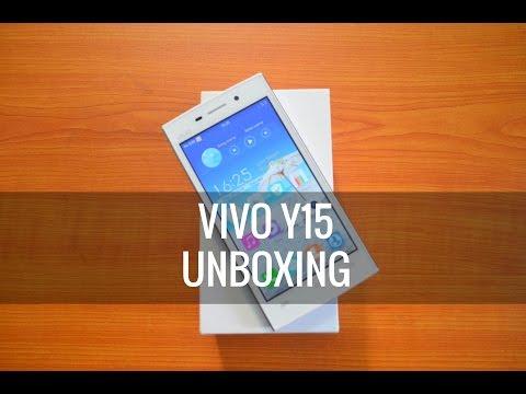 Vivo Y15 Unboxing