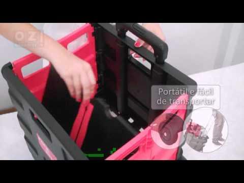 89b7f6871c7a Loja OZ! - Carrinho para Compras Multiuso - YouTube