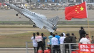 JF-17 Pakistan Air Force Stunning Performance in China ! Airshow China 2018 珠海航展2018