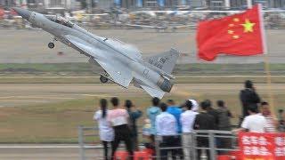 JF-17 Pakistan Air Force Stunning Performance in China ! Airshow China 2018 珠海航展2018