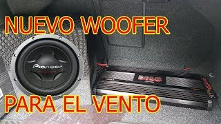 Sub Woofer al Vento Jetta con Stereo Original MK6 como poner potencia amplificador tutoria ...