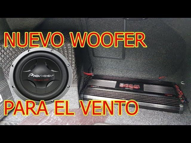 Sub Woofer al Vento Jetta con Stereo Original MK6