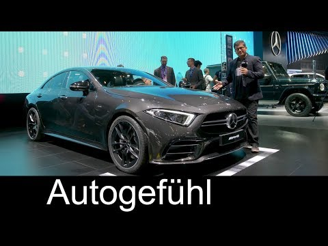 All new Mercedes AMG CLS 53 REVIEW Mercedes CLS 2018 NAIAS 2018 Autogefhl