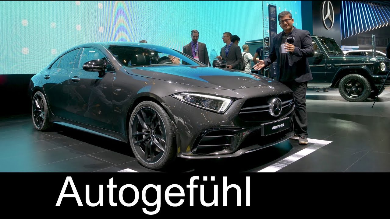 All-new Mercedes-AMG CLS 53 REVIEW Mercedes CLS 2018 - NAIAS 2018 - Autogefühl - Dauer: 11 Minuten