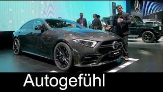 All-new Mercedes-AMG CLS 53 REVIEW Mercedes CLS 2018 - NAIAS 2018 - Autogefühl