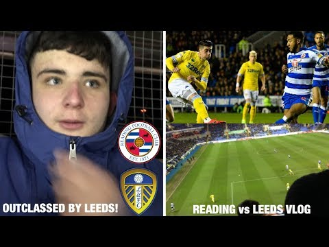 """OUTCLASSED BY LEEDS"" - READING (0) vs (3) LEEDS UNITED *VLOG* - ROYALS SUFFER FIRST DEFEAT IN 3!"