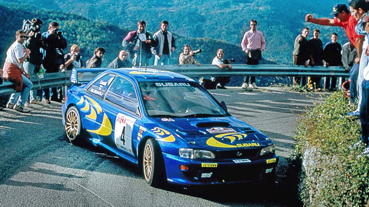 Download Best of Subaru Impreza WRC97-2000 tarmac action - with pure engine sounds