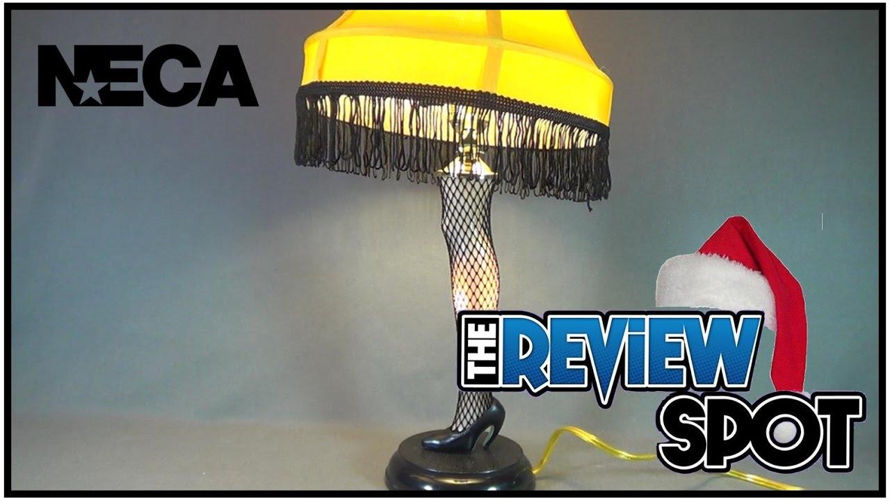 Christmas Spot 2016   NECA A Christmas Story Leg Lamp Prop Replica