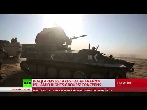 Iraqi army retakes Tal Afar from ISIS amid rights groups' concerns