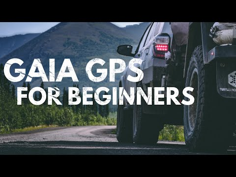 How To Use The Gaia GPS Navigation App (Basics)