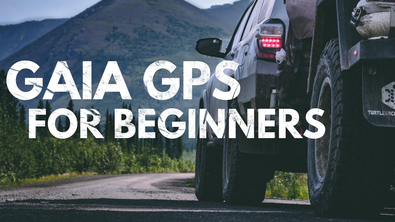 How to use the Gaia GPS Navigation App (Basics)