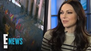 laura prepon weighs in on alex vauses love interests celebrity sit down e news