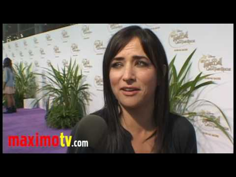 """Pamela Adlon Interview at """"Tinker Bell And The Great Fairy Rescue"""" Screening"""