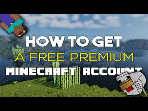 HOW TO GET FREE MINECRAFT PREMIUM ACCOUNT! FOR FREE LEGIT! 100% WORKS ENJOY - YouTube
