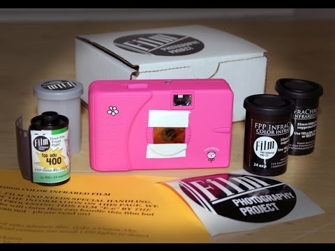 Shoot Infrared Color Film in an Ultra Wide & Slim Camera!