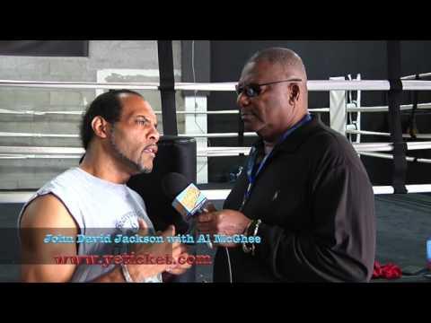 Boxing Trainer John David Jackson Interview