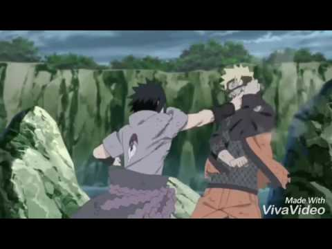 Naruto vs sasuke batalla final linkin park!!