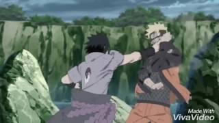 Naruto vs sasuke batalla final linkin park!!