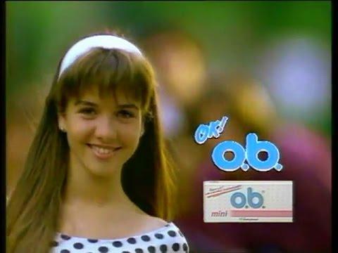 Natalia Oreiro  . Publicidad OB - Años '90 (Hq) - Version Uruguay