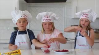 How To Make White Chocolate Raspberries - Kids in the Kitchen | Six Sisters Stuff