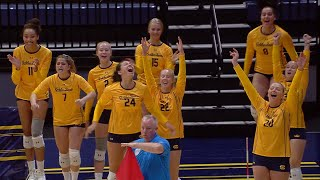 No. 15 Cal women's volleyball survives at home, defeats Colorado in five sets